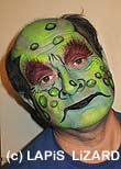 monster face painting Oxfordshire