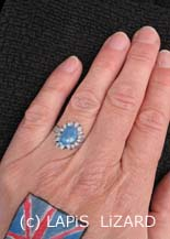 painted engagement ring of Katie Middleton